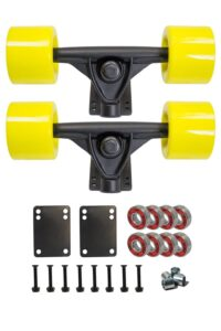 SCSK8 Longboard Skateboard Trucks review