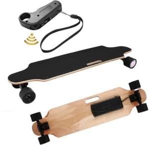 Aceshin Electric Skateboard Longboard with Wireless Handheld