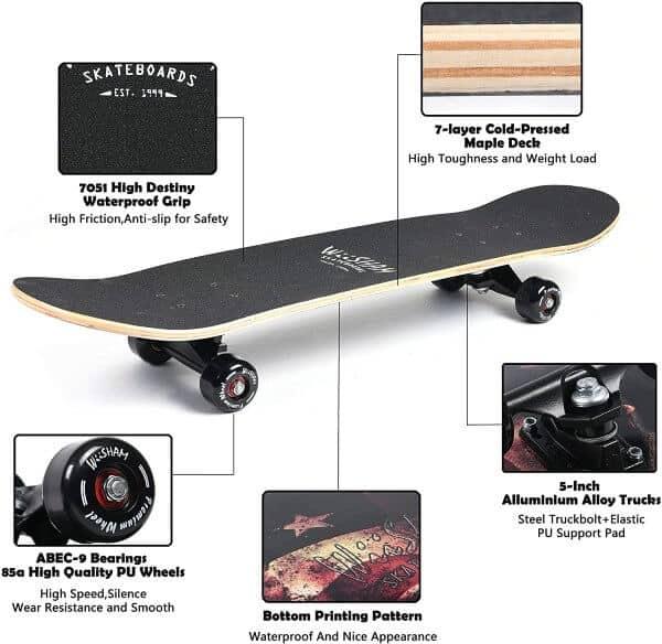 WiiSHAM Skateboards Overview
