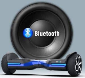 best all terrain hoverboard with bluetooth