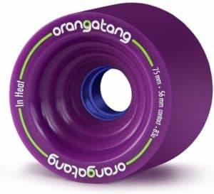 Orangatang in Heat 75 mm Downhill Longboard wheels