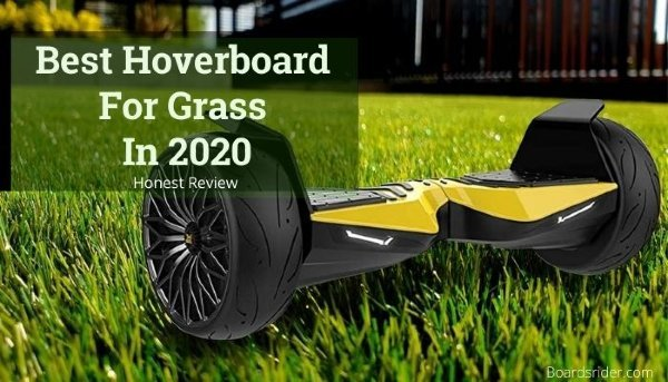 Hoverboards go on grass