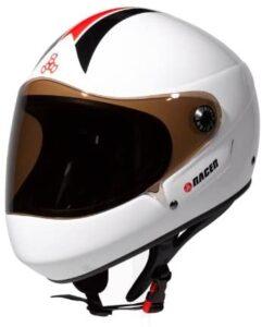 Triple eight downhill racer helmet