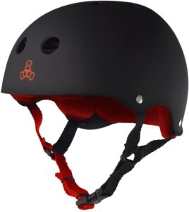 Triple eight skate helmet