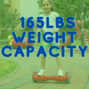 hoverstar hoverboard weight capacity