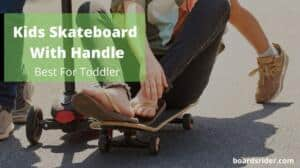 Kids Skateboard With Handle