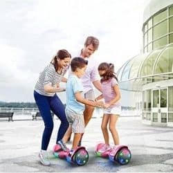 tomoloo hoverboard with led lights