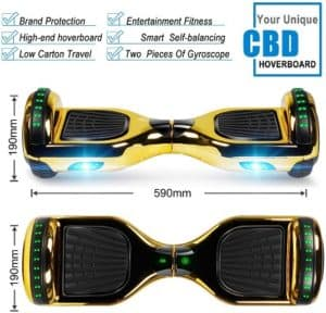 CBD Bluetooth Hoverboard Features