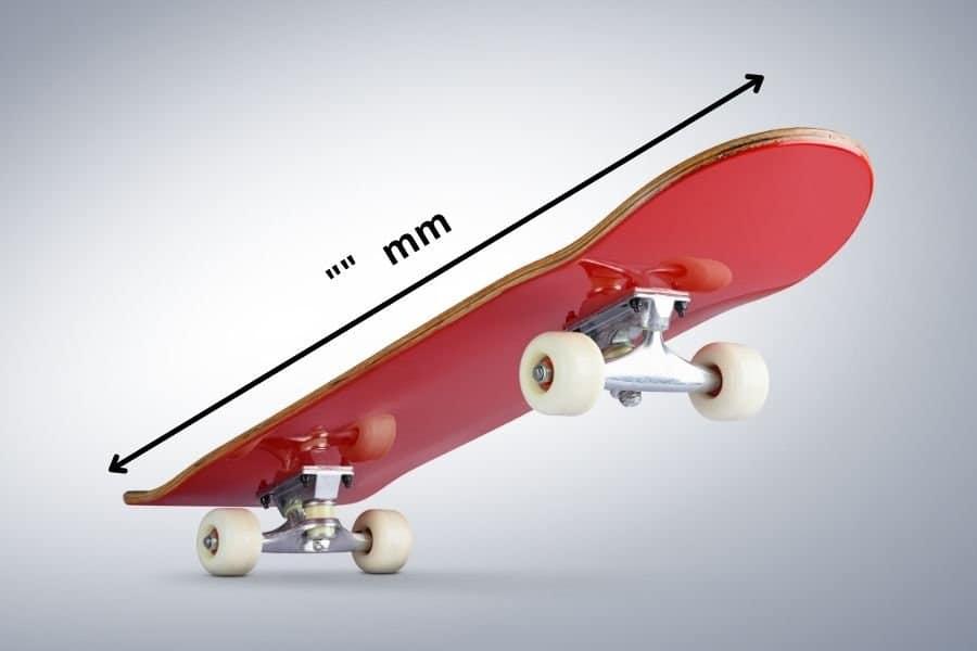 choosing right size skateboard deck
