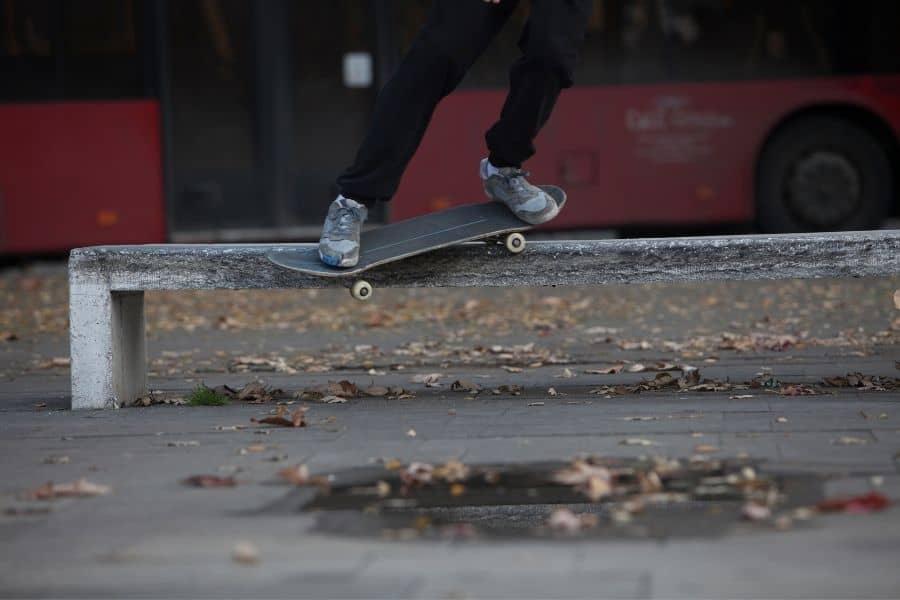 Skateboard Pushing