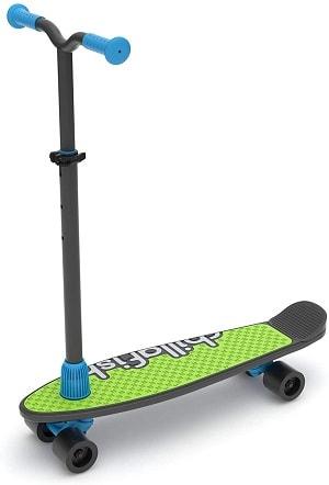 Chillafish Skatieskootie Customizable Training Skateboard