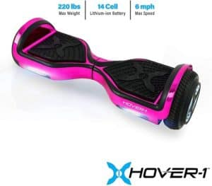 Hover 1 Chrome Electric Hoverboard Scooter