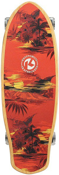 Kryptonics Super Fat Cruiser 30.5 Inch Complete Skateboard