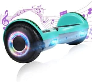 YHR Hoverboard with Wireless Bluetooth Speaker